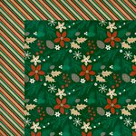 Kaisercraft - Holly Bright Collection - Christmas - 12 x 12 Double Sided Paper - Pine Cone