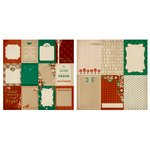 Kaisercraft - Holly Bright Collection - Christmas - 12 x 12 Double Sided Paper - Woodland