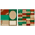 Kaisercraft - Holly Bright Collection - Christmas - 12 x 12 Double Sided Paper - Timber