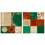 Kaisercraft - Holly Bright Collection - Christmas - 12 x 12 Double Sided Paper - Wilderness