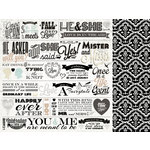 Kaisercraft - Something Blue Collection - 12 x 12 Double Sided Paper - Ever After