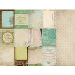 Kaisercraft - Heirloom Collection - 12 x 12 Double Sided Paper - Descent