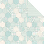 Kaisercraft - Pitter Patter Collection - 12 x 12 Double Sided Paper - Little One