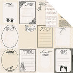Kaisercraft - Pitter Patter Collection - 12 x 12 Double Sided Paper - Peek-a-boo