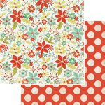 Kaisercraft - Mistletoe Collection - Christmas - 12 x 12 Double Sided Paper - Eggnog