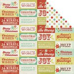 Kaisercraft - Mistletoe Collection - Christmas - 12 x 12 Double Sided Paper - Tinsel