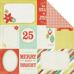 Kaisercraft - Mistletoe Collection - Christmas - 12 x 12 Double Sided Paper - Stockings