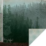 Kaisercraft - Outdoor Trail Collection - 12 x 12 Double Sided Paper - Woodland