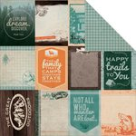 Kaisercraft - Outdoor Trail Collection - 12 x 12 Double Sided Paper - Swag