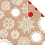 Kaisercraft - Mix and Match Collection - 12 x 12 Double Sided Paper - Doilies