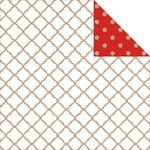 Kaisercraft - Mix and Match Collection - 12 x 12 Double Sided Paper - Lattice