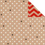 Kaisercraft - Mix and Match Collection - 12 x 12 Double Sided Paper - Crosses