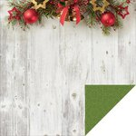 Kaisercraft - Basecoat Christmas Collection - 12 x 12 Double Sided Paper - Bells