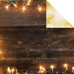 Kaisercraft - Basecoat Christmas Collection - 12 x 12 Double Sided Paper - Lights