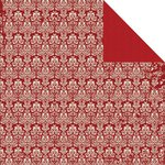 Kaisercraft - Yuletide Collection - Christmas - 12 x 12 Double Sided Paper - Nutcracker