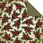 Kaisercraft - Yuletide Collection - Christmas - 12 x 12 Double Sided Paper - Festive