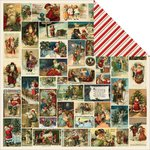 Kaisercraft - Yuletide Collection - Christmas - 12 x 12 Double Sided Paper - Christmas Eve