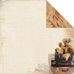 Kaisercraft - Teddy Bears Picnic Collection - 12 x 12 Double Sided Paper - Bear Hug