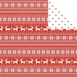 Kaisercraft - North Pole Collection - Christmas - 12 x 12 Double Sided Paper - Sweater