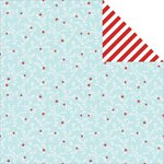 Kaisercraft - North Pole Collection - Christmas - 12 x 12 Double Sided Paper - Candy Cane