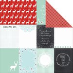 Kaisercraft - North Pole Collection - Christmas - 12 x 12 Double Sided Paper - Skate
