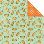 Kaisercraft - Tropical Punch Collection - 12 x 12 Double Sided Paper - Pineapple