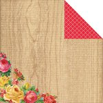 Kaisercraft - Tropical Punch Collection - 12 x 12 Double Sided Paper - Sunny
