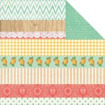 Kaisercraft - Tropical Punch Collection - 12 x 12 Double Sided Paper - Bubbles
