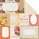 Kaisercraft - Tropical Punch Collection - 12 x 12 Double Sided Paper - Party