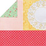 Kaisercraft - Tropical Punch Collection - 12 x 12 Double Sided Paper - Mocktail