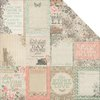 Kaisercraft - Rustic Harmony Collection - 12 x 12 Double Sided Paper - Enchantment