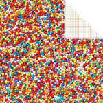 Kaisercraft - Pop Collection - 12 x 12 Double Sided Paper - Sprinkles