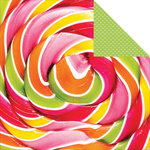 Kaisercraft - Pop Collection - 12 x 12 Double Sided Paper - Lollipop