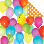 Kaisercraft - Pop Collection - 12 x 12 Double Sided Paper - Balloons