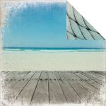 Kaisercraft - Sandy Toes Collection - 12 x 12 Double Sided Paper - Ocean