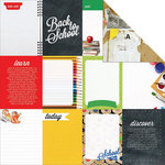 Kaisercraft - 2 Cool 4 School Collection - 12 x 12 Double Sided Paper - Technology