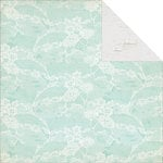 Kaisercraft - Blue Bay Collection - 12 x 12 Double Sided Paper - Sapphire