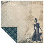 Kaisercraft - Betsy's Couture Collection - 12 x 12 Double Sided Paper - A-Line