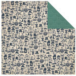 Kaisercraft - Betsy's Couture Collection - 12 x 12 Double Sided Paper - Bolero