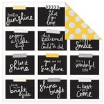 Kaisercraft - Shine Bright Collection - 12 x 12 Double Sided Paper - Buttercup