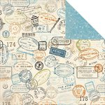 Kaisercraft - Wanderlust Collection - 12 x 12 Double Sided Paper - Freedom