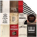 Kaisercraft - On Stage Collection - 12 x 12 Double Sided Paper - Arts