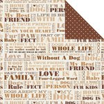 Kaisercraft - Furry Friends Collection - 12 x 12 Double Sided Paper - Pet