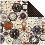 Kaisercraft - Antique Bazaar Collection - 12 x 12 Double Sided Paper - Salvage