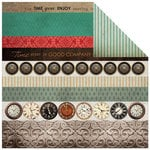 Kaisercraft - Antique Bazaar Collection - 12 x 12 Double Sided Paper - Limited