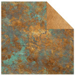 Kaisercraft - Antique Bazaar Collection - 12 x 12 Double Sided Paper - Unearth