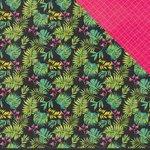 Kaisercraft - Say Aloha Collection - 12 x 12 Double Sided Paper - Papaya