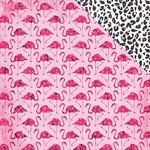 Kaisercraft - Say Aloha Collection - 12 x 12 Double Sided Paper - Flamingo