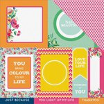 Kaisercraft - Fiesta Collection - 12 x 12 Double Sided Paper - Tequila