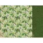 Kaisercraft - Botanica Collection - 12 x 12 Double Sided Paper - Pollen